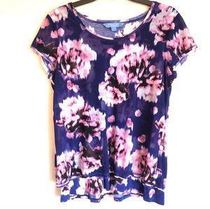 Simply Vera Wang Floral Top